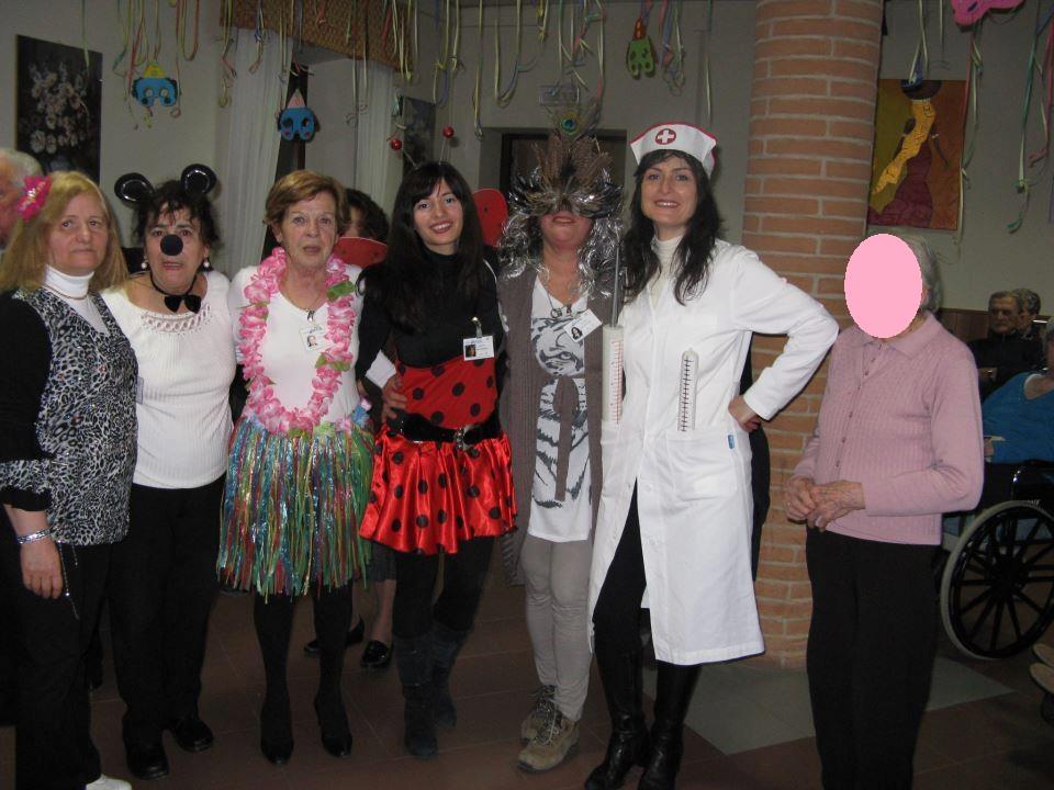 Carnevale Residenza per gli Anziani Tolentino